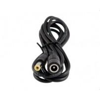 PremiumCord Prodlužovací kabel napájecího konektoru 5,5/2,1mm, délka: 1,5m