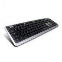 C-TECH klávesnice CZ/SK KB-102 USB slim silver