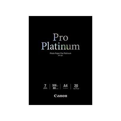 Canon fotopapír PT-101 - A4 - 300g/m2 - 20listů - lesklý