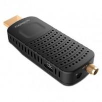 THOMSON DVB-T/T2 tuner HDMI stick THT 82/ Full HD/ H.265/HEVC/ externí anténa/ EPG/ PVR/ HDMI/ USB/ micro USB/ IR/ černý