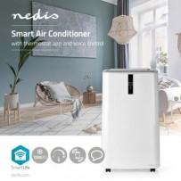 Nedis WIFIACMB1WT12 - Chytrá Klimatizace   12 000 BTU   Až 75 m3   Wi-Fi   Android™ a iOS   Energetická Třída A