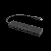 i-tec USB-C Metal HUB 2x USB 3.0 + 2x USB-C