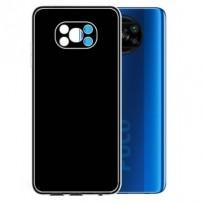 Ochranný TPU obal Lenuo pro Xiaomi Poco X3, černý