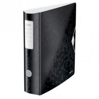 Nedis CLWA006GL30RD - Kulaté Nástěnné Hodiny | Průměr 30 cm | Dobře Čitelné Číslice | Jasně Červená