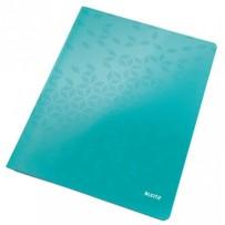Desky s rychlovazačem Leitz WOW, A4, ledově modrá