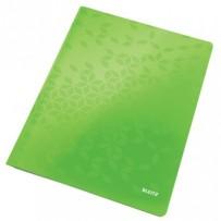 Desky s rychlovazačem Leitz WOW, A4, zelená