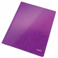 Desky s rychlovazačem Leitz WOW, A4, purpurová