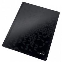 Desky s rychlovazačem Leitz WOW, A4, černá