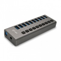 i-tec USB 3.0 Charging HUB 10 Port + Power Adapter 48 W