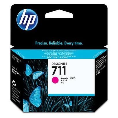 HP CZ131A No. 711 Magenta Ink Cart pro DSJ T120, 29 ml