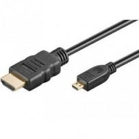 PremiumCord 4K Kabel HDMI A - HDMI micro D, 5m