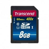 Transcend 8GB SDHC (Class10) UHS-I 400X (Premium) paměťová karta