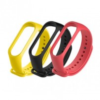 Xiaomi Mi Band Strap 3/4 (black, red, yellow)
