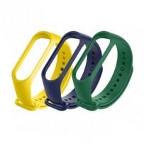 Xiaomi Mi Band Strap 5/6 (midnight blue, dark green, yellow)