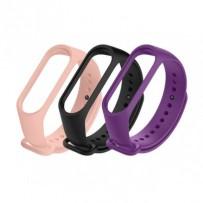 Xiaomi Mi Band Strap 5/6 (black, flesh pink, purple)