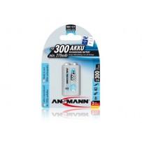 Ansmann akumulátor 9V NiMH 270 mAh (1 ks) maxE