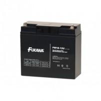 akumulátor FUKAWA FW 18-12 U (12V, 18Ah, závit M5, životnost 5let)
