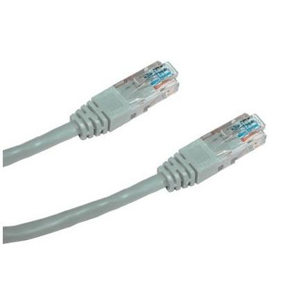 DATACOM Patch cord UTP CAT5E 1m šedý