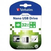 VERBATIM Store 'n' Stay NANO 32GB USB 2.0 černá