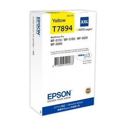 EPSON cartridge T7894 yellow (WorkForce5)