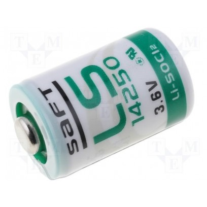 SAFT LS14250 (1/2AA) 3,6V/1200 mAh