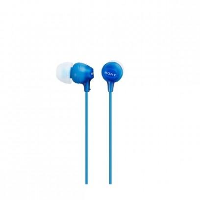 SONY MDR-EX15LP - Sluchátka do uší - Blue
