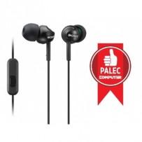 SONY MDR-EX110AP Sluchátka do uší s mikrofonem, rozsah 5 až 24000 Hz - Black