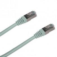 DATACOM Patch cord FTP CAT6 0,5m šedý