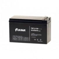 akumulátor FUKAWA FW 7,2-12 F2U (12V, 7,2Ah, faston F2-6,3mm, životnost 5let)