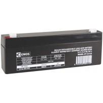 Emos baterie SLA 12V / 2.2 Ah, Faston 4.8 (187)