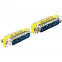 Delock adaptér Sub-D 25 pin samec - samec