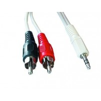 Kabel GEMBIRD přípojný jack-2xcinch 1,5m audio