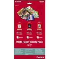 Canon fotopapír Photo Paper Variety Pack 10x15 (GP PP SG) po 5