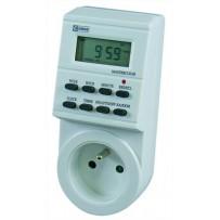 Emos spínací hodiny TS-EF1, digitální - 1 zásuvka