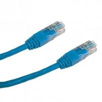 DATACOM Patch cord UTP CAT5E 3m modrý