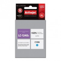 ActiveJet ink cartr. Brother LC-1240C - 12 ml - 100% NEW AB-1240CNX