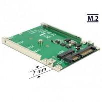"""Delock 2.5"""" Konvertor SATA 22 Pin - M.2 NGFF"""