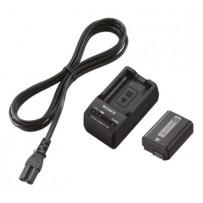 SONY ACC-TRW Sada příslušenství pro videokamery s dobíjecími bateriemi a nabíječkou baterií řady W