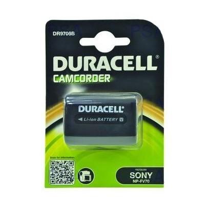 DURACELL Baterie - DR9706B pro Sony NP-FV70, černá, 1640 mAh, 7.4V
