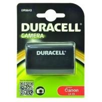 DURACELL Baterie - DR9943 pro Canon LP-E6, černá, 1400 mAh, 7.4V