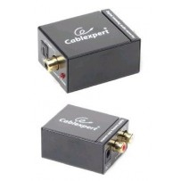GEMBIRD Dat extender digital na analog audio konvertor, SPDIF/RCA