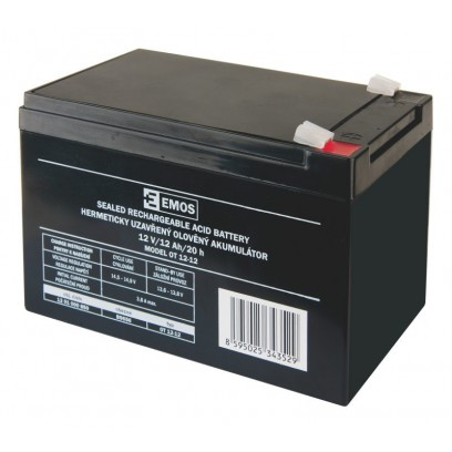 Emos baterie SLA 12V / 12 Ah, Faston 6.3 (250)