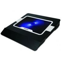 """Crono CB156 - aktivní chladící podložka pro notebook do 15.6"""", modré LED podsvícení"""