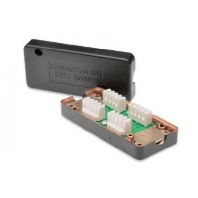 Digitus spojovací box CAT7, 600 MHz, LSA, plně stíněný, kompaktní design, 26x35x80 mm