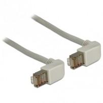 Delock Cable RJ45 Cat.5e SFTP pravoúhlý / pravoúhlý 0,5 m
