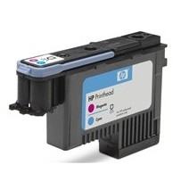 HP C9383A No. 72 Magenta and Cyan Printhead pro DJ T1100