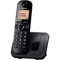 Panasonic KX-TGC210FXB, bezdrát. telefon, černý