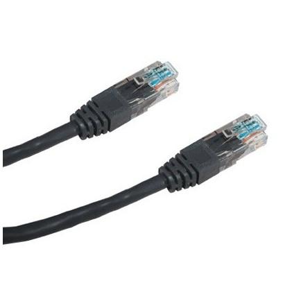 DATACOM Patch cord UTP CAT5E 3m černý