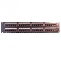 UTP Patchpanel, Cat.5e, 48-Port,2U