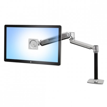 "ERGOTRON LX HD Sit-Stand Desk Mount LCD Arm, Polished, stolní rameno max 46"" display"